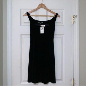 NWT Betsey Johnson velvet cocktail dress